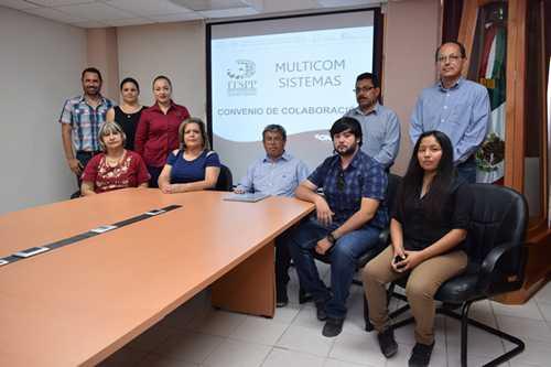 Celebran Convenio de Colaboración ITSPP y la Empresa Multicon Sistemas