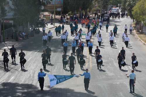 UTPP Participación en el desfile revolucionario del 20 de noviembre