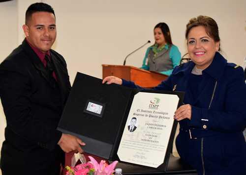 El ITSPP llevó a cabo la Ceremonia Académica de Entrega de Títulos profesionales.