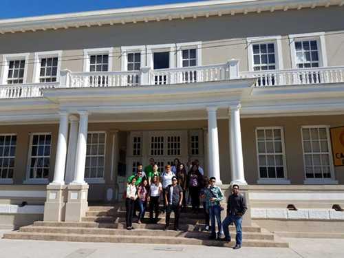 Realizan viaje de estudios alumnos del ITSPP de 8vo semestre de la licenciatura en administración.