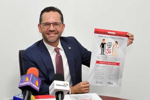 "Promueve Registro Civil ""Febrero Mes del Matrimonio Colectivo"""