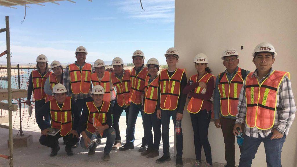 Estudiantes de Ingeniería Civil del ITSPP, visitan Constructora GV Arquitectos, en Costa Divina