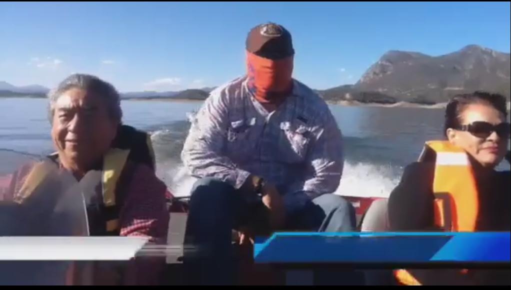 Participan Diputada Magdalena Uribe y Lázaro Espinoza en X Torneo de Pesca de Lobina en El Novillo