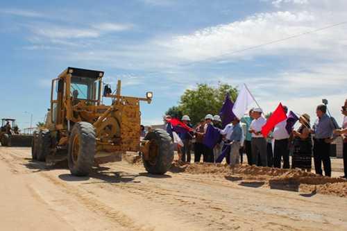 Montes Piña inaugura obras en vialidades de San Luis Río Colorado