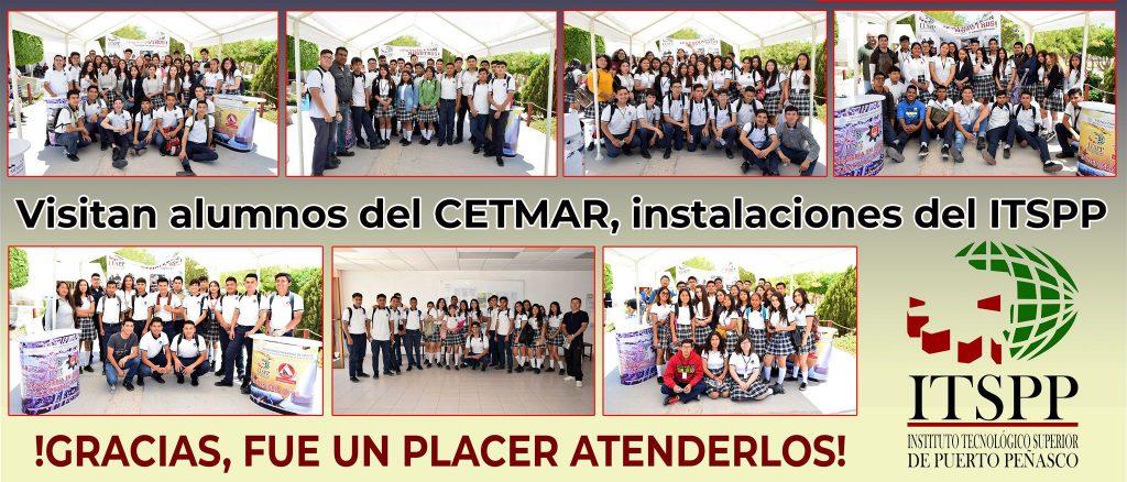 Visitan alumnos del CETMAR, instalaciones del ITSPP