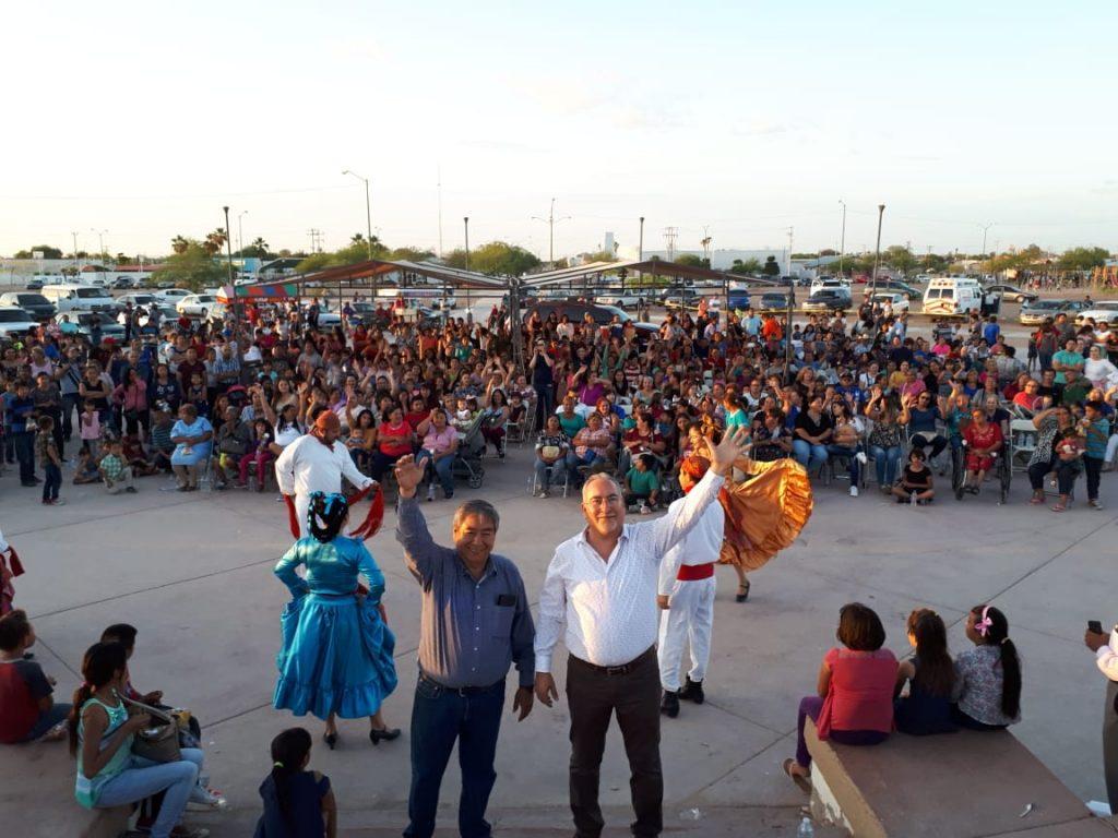 Diputados de Encuentro Social celebran en grande a las mamás del Distrito I