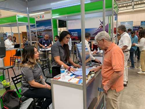 Fortalecen promoción de Puerto Peñasco en tierras Chihuahuenses en la Expo Viaja 2019.