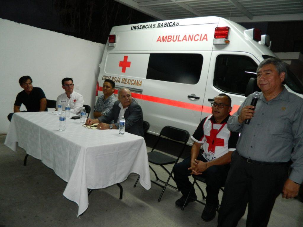 Apoya diputado Lázaro Espinoza, a Cruz Roja en Puerto Peñasco