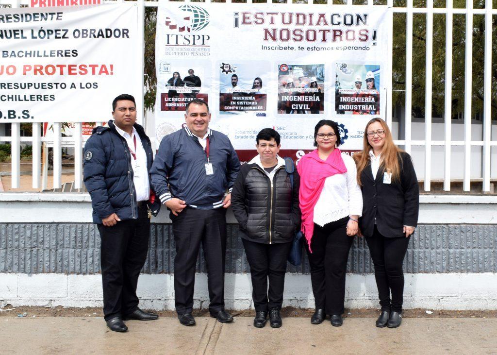 PROMUEVE ITSPP PLANES EDUCATIVOS EN COBACH PLANTEL PUERTO PEÑASCO