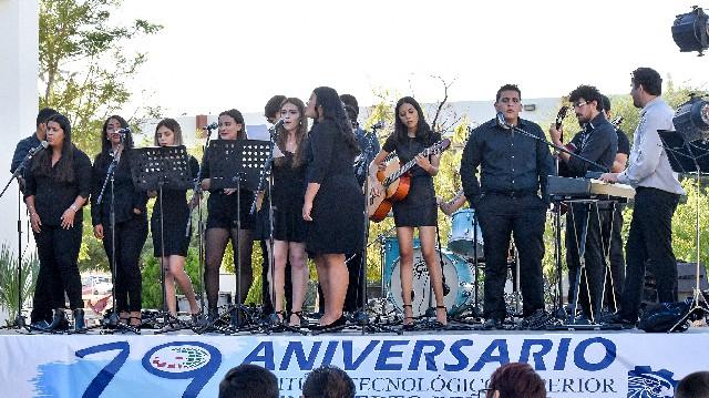 Festejan décimo noveno aniversario del Instituto Tecnológico Superior de Puerto Peñasco