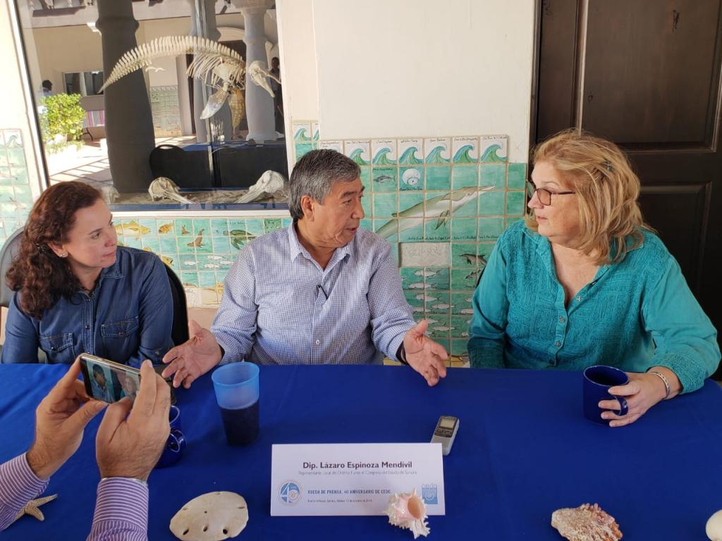Realiza diputado Lázaro Espinoza, productiva gira de trabajo en Puerto Peñasco