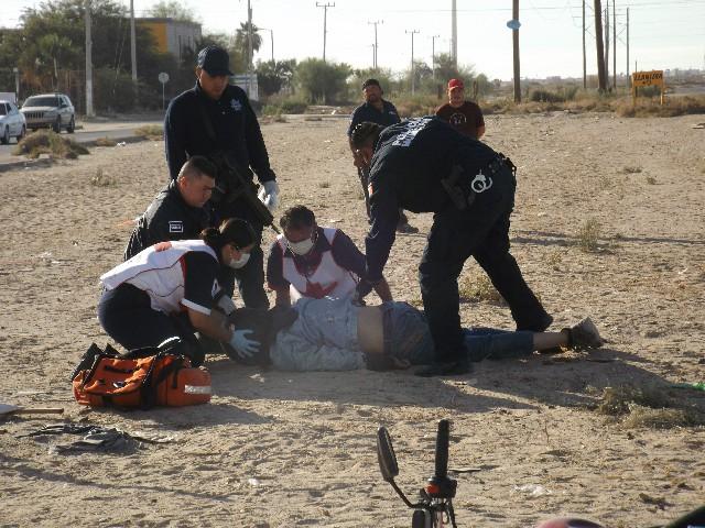 Motociclista muere atropellado por carro que se da a la fuga