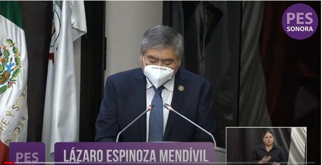 SOLICITA LÁZARO ESPINOZA  APOYO URGENTE PARA EL PUEBLO COMCA'AC