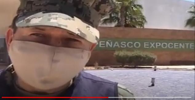 La Secretaría de Marina apoya las actividades implementa por el Gobierno Municipal de Puerto Peñasco